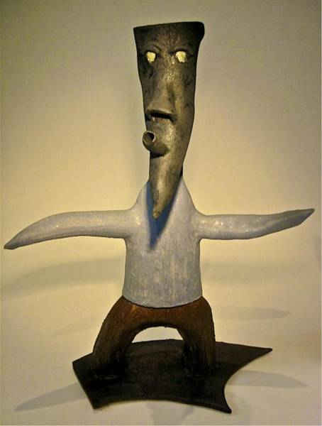 Sculpture - Rufus by Mario MJ Perron
