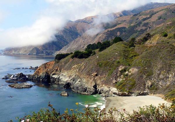 Photograph - Rugged California Seashore by Jeff Lowe