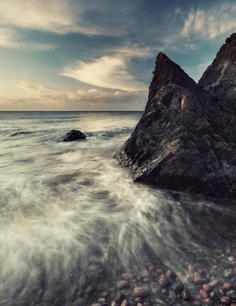 Wall Art - Photograph - Rugged Coast by Shaunl