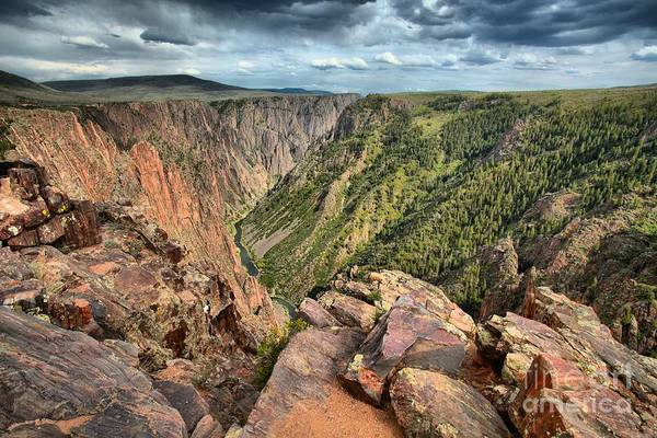 Photograph - Rugged Edge Of The Canyon by Adam Jewell