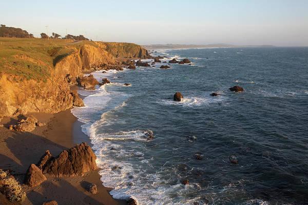 Jason Day Photograph - Rugged Rocky Cliffs Along Sonoma Coast by Jason Todd