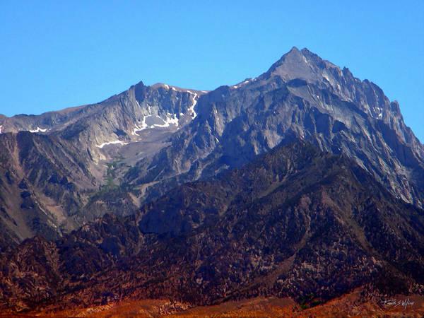 Photograph - Rugged Sierra Peaks by Frank Wilson