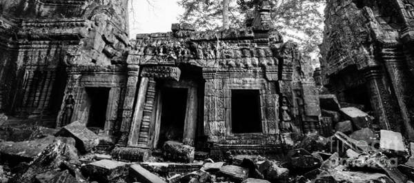Photograph - Ruin With Doorway by Julian Cook