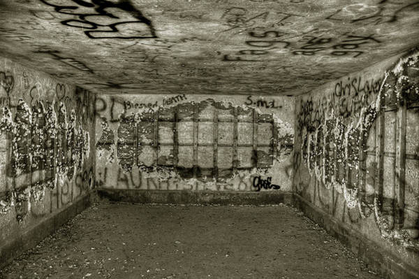 Photograph - Ruined Bunker by Michael Kirk