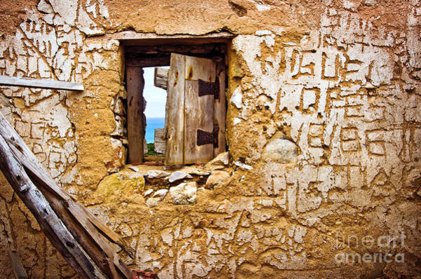 Mural Photograph - Ruined Wall by Carlos Caetano