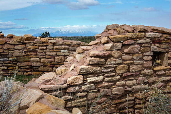 Lowry Photograph - Ruins At Lowry Pueblo, Colorado, Usa by Mountain Girl Photography