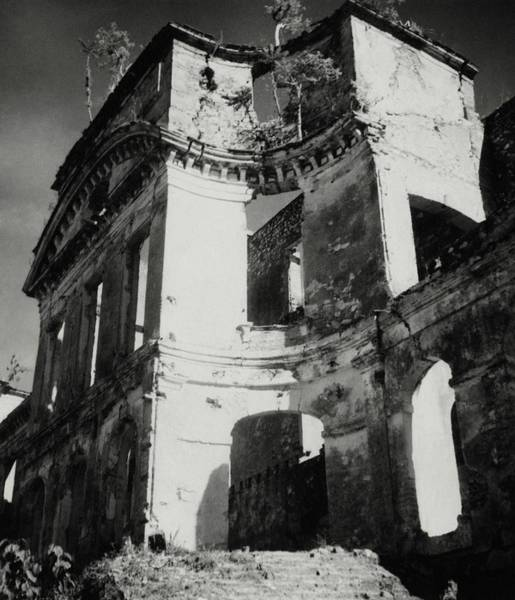 French Architecture Photograph - Ruins In Haiti by Cecil Beaton