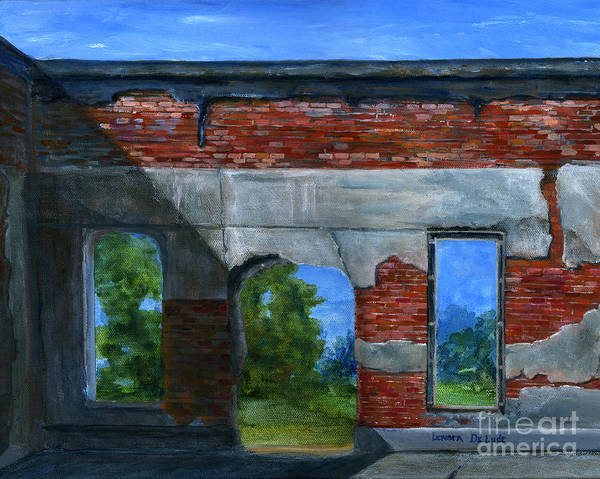 Painting - Ruins In Pleaant Hill by Lenora  De Lude