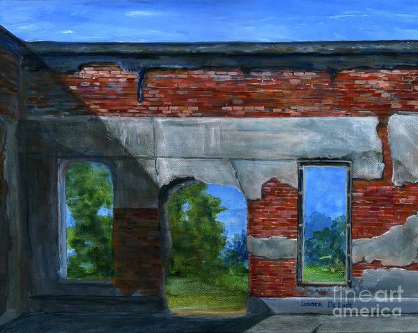 Ruins In Pleaant Hill Art Print