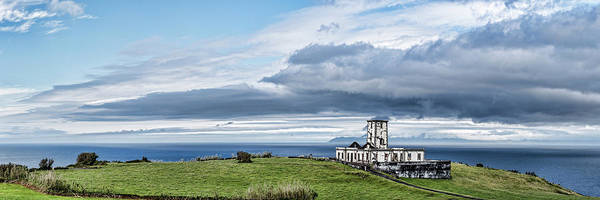 Azores Photograph - Ruins Of A Lighthouse, Ribeirinha by Panoramic Images