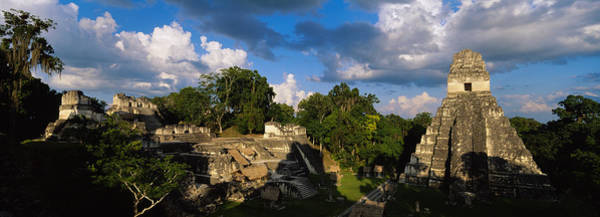 Guatemala Photograph - Ruins Of An Old Temple, Tikal, Guatemala by Panoramic Images