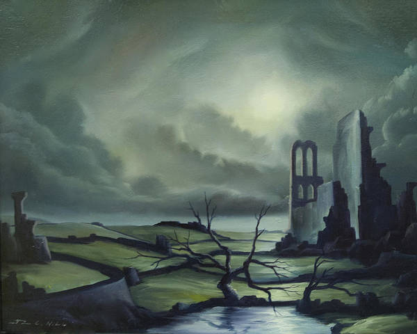Painting - Ruins Of Cathedra by James Christopher Hill