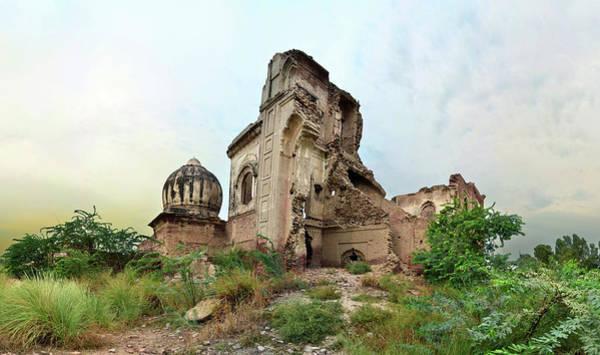 Suburbs Photograph - Ruins Of Gurdwara by Haseeb Ahmed Khan