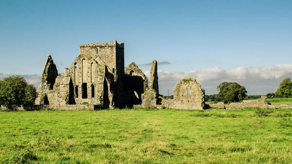 Ancient Photograph - Ruins Of Hore Abbey by Megan Ahrens