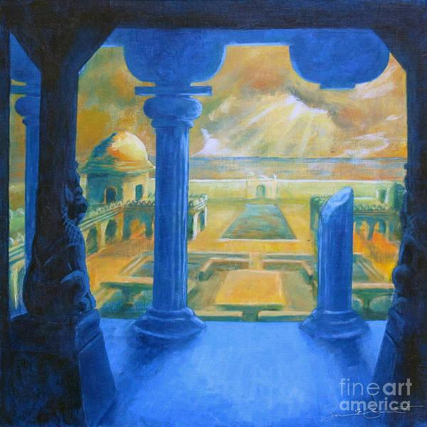 Samantha Painting - Ruins Of Lankapura by Samantha Geernaert