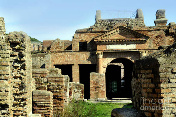 Photograph - Ruins Of Ostia Antiqua by Brenda Kean