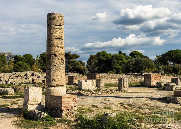 Photograph - Ruins Of Paestum by Prints of Italy