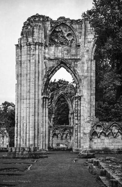 Photograph - Ruins Of St. Mary's Abbey by Ross Henton