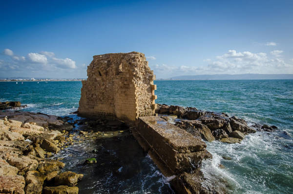 Photograph - Ruins Of The Walls At Acre by David Morefield