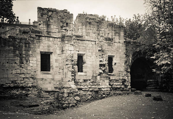 Photograph - Ruins Of York - For Eugene Atget by Ross Henton