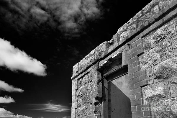 Photograph - Ruins by Russell Brown