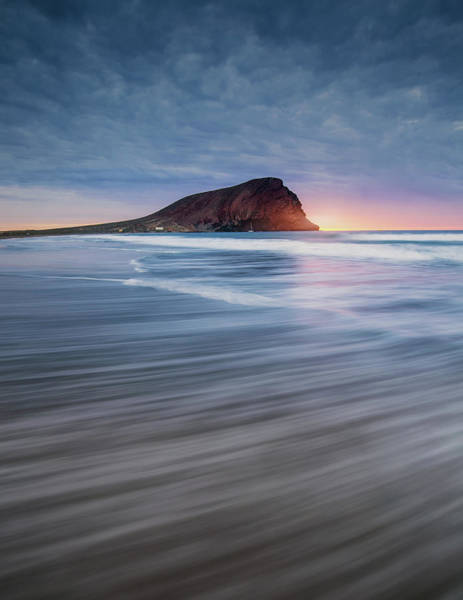 Waves Photograph - Rule Of Thirds by Carlos M. Almagro