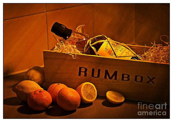 Wall Art - Photograph - Rum Box Fine Art by Donald Davis