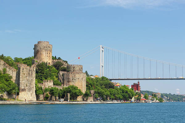 Bosphorus Bridge Photograph - Rumeli Hisari Fortress Of Europe On by George Tsafos