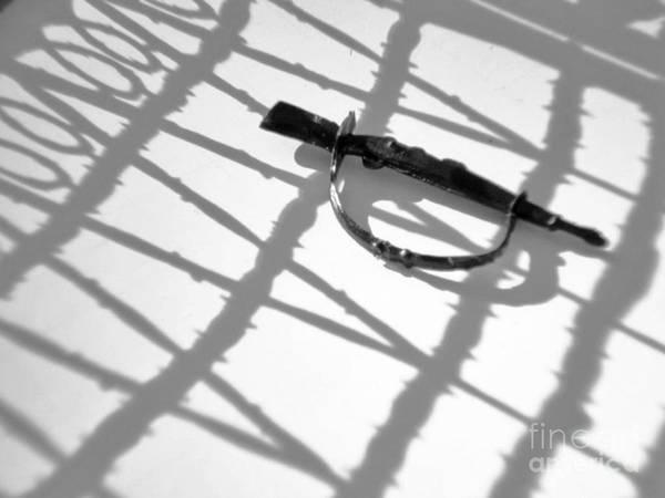 Wire Wrap Photograph - Rumors Of War by Joe Pratt