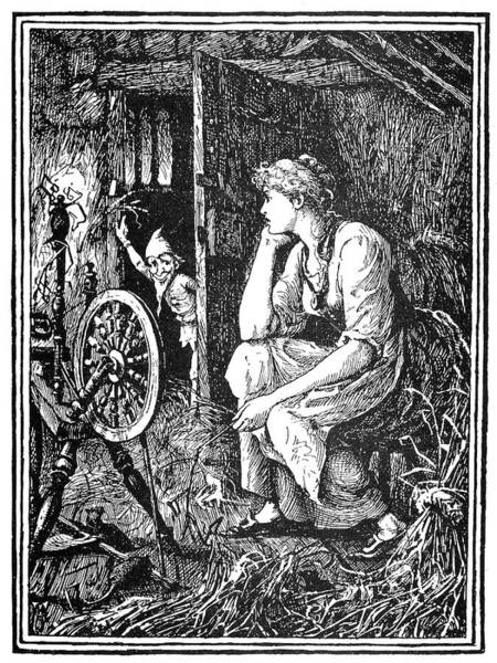 Drawing - Rumpelstiltskin, 1891 by Granger