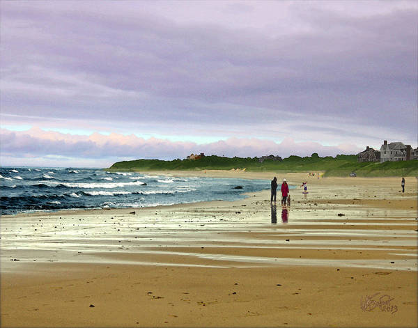 Digital Art - Run Off by William Sargent