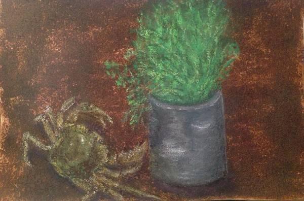 Gitana Wall Art - Painting - Runaway Dinner by Gitana Banks