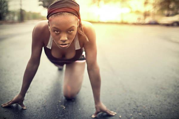 Physical Training Wall Art - Photograph - Runner by Xavierarnau