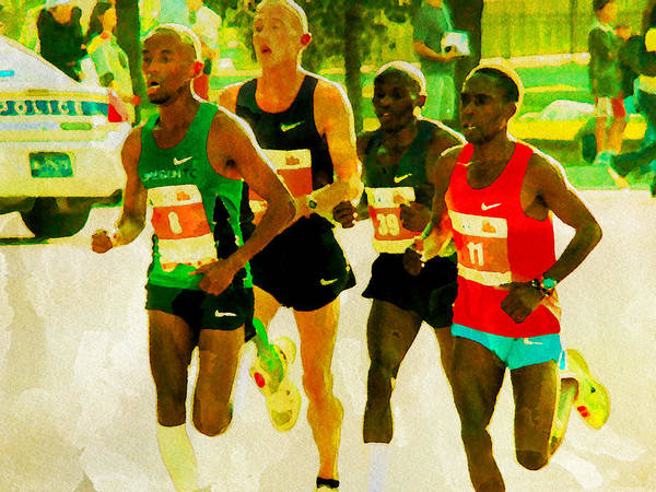 Photograph - Runners by Alice Gipson