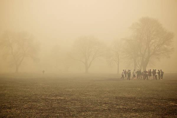 Veterans Photograph - Running Back by Josh Eral