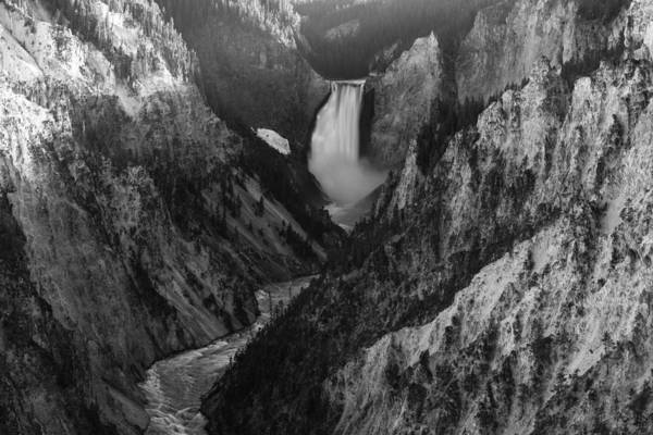 Yellowstone Canyon Photograph - Running Deep by Kristopher Schoenleber