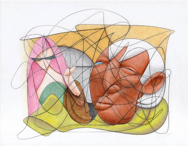 Drawing - Running Errands by Ismael Cavazos