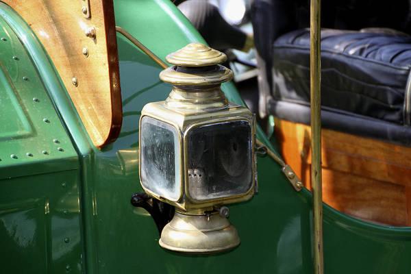 Photograph - Oil Lamp Running Light by Bob Slitzan