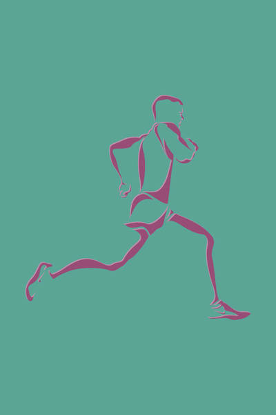 Athens Marathon Wall Art - Photograph - Running Runner9 by Joe Hamilton