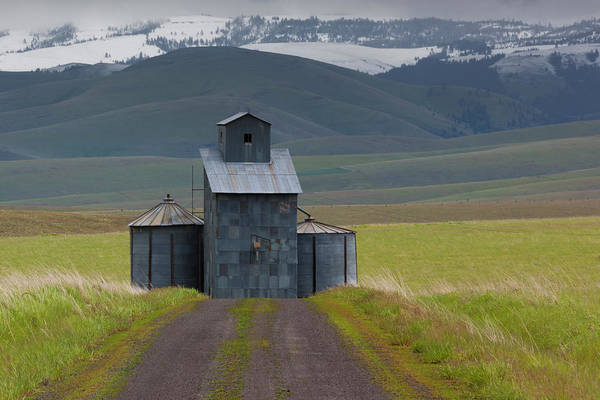 Edifice Photograph - Rural Landscape, Oregon, Usa by Art Wolfe