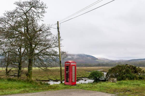 Photograph - Rural Phone Box by Gary Eason