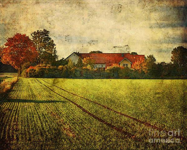 Photograph - Rural Residence by Jutta Maria Pusl