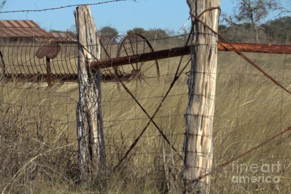 Wire Wrap Photograph - Rural Retirement  by Joe Pratt