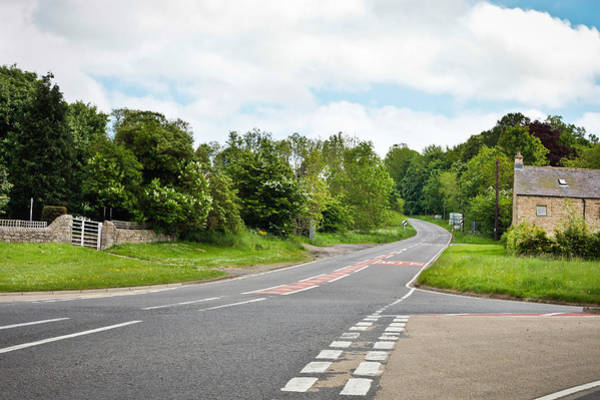 Cross Country Photograph - Rural Road by Tom Gowanlock