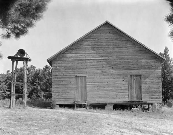 Photograph - Rural Schoolhouse, 1936 by Granger