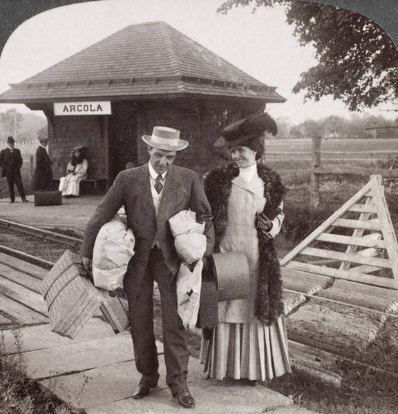Photograph - Rural Station, 1907 by Granger