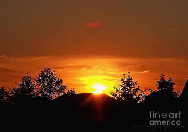 Photograph - Rural Sunset by Gena Weiser