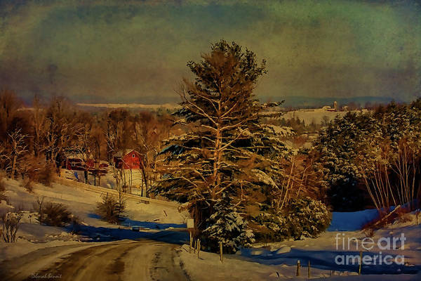 Photograph - Rural Winter In Vermont by Deborah Benoit
