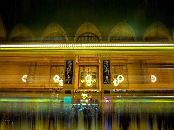 Photograph - Rush Hour- 7-03 Track 24 by Glenn Feron