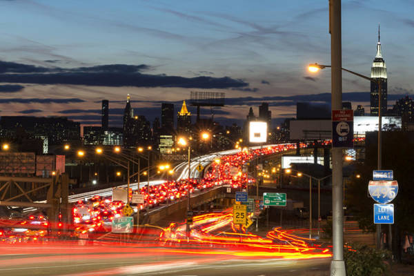 Rush Hour Photograph - Rush Hour by Aldo R. Altamirano